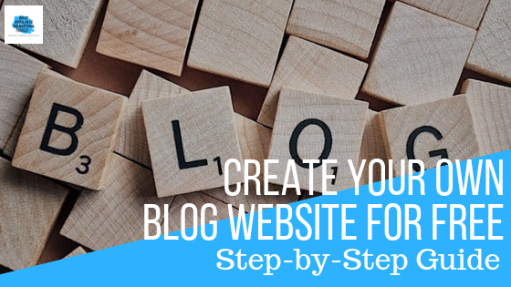 Create Your Own Blog Website for Free