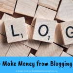 How to Make Money from Blogging Online
