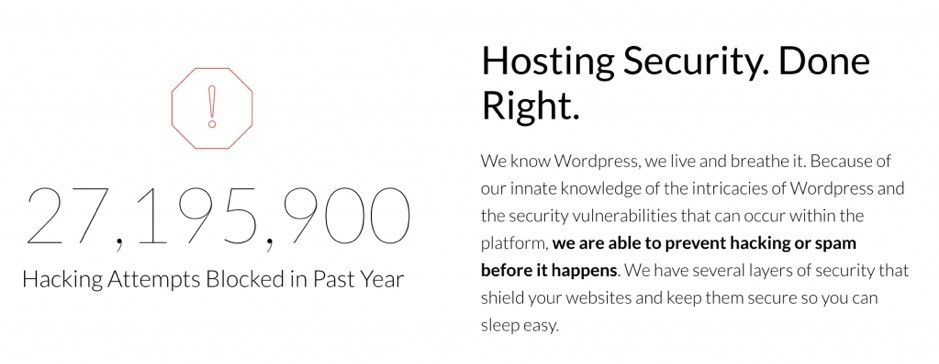 Safe & Secure Hosting