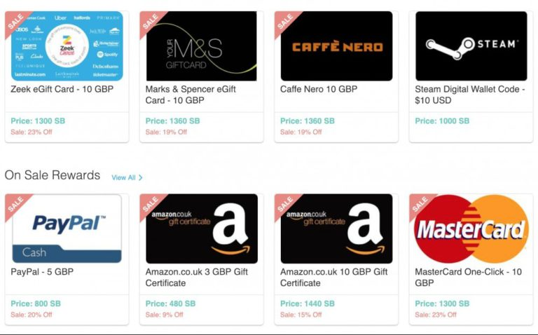 swagbucks-redeemable-gift-cards