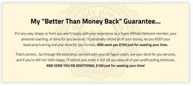 Super-Affiliate-Network-Money-Back-Guarantee