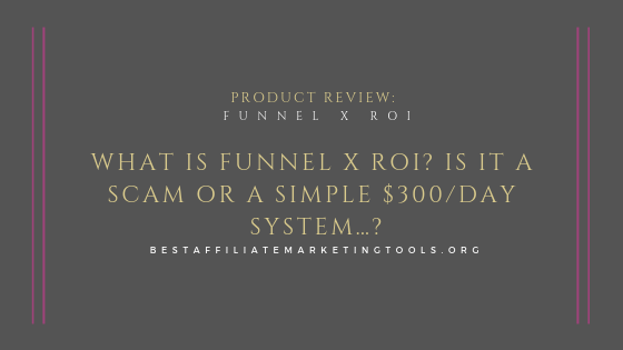 What is Funnel X ROI_ Is it a Scam or a Simple $300_day System…_