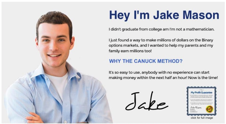 Jake Mason - Canuck Method?