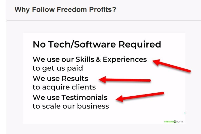 skills and expertise - freedom profits