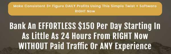 Profiteer-sales-page