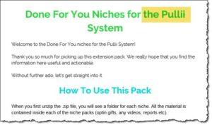 Pulli System or Traffic Rebirth