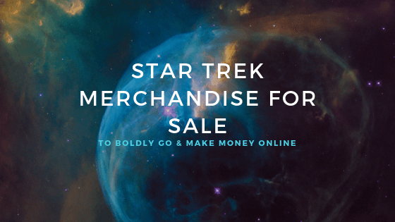 star trek merchandise for sale
