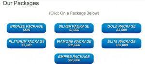 Millionaire Mentors Alliance Packages