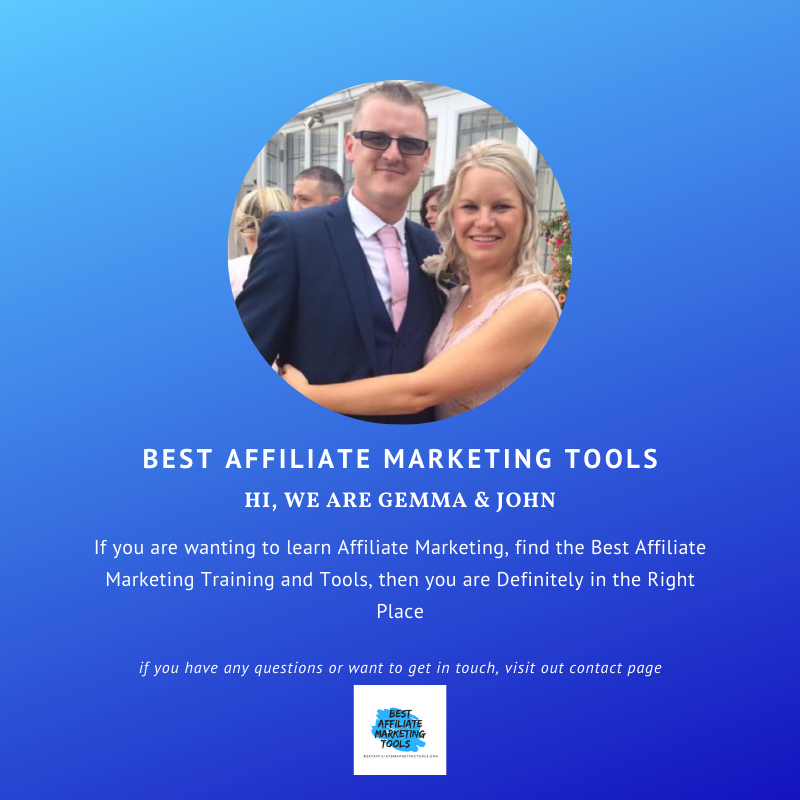 We are John & Gem, the guys behind Best Affiliate Marketing Tools. If you want to learn more about us or contact us, press here