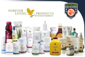 a selection of the products available at Forever Living
