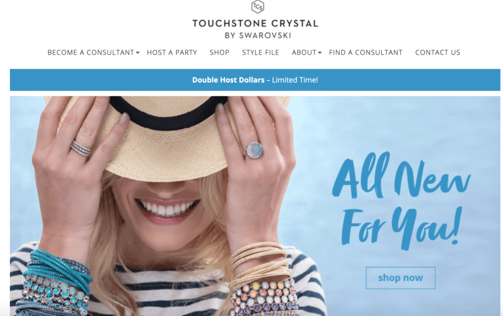 Touchstone Crystal Home Page