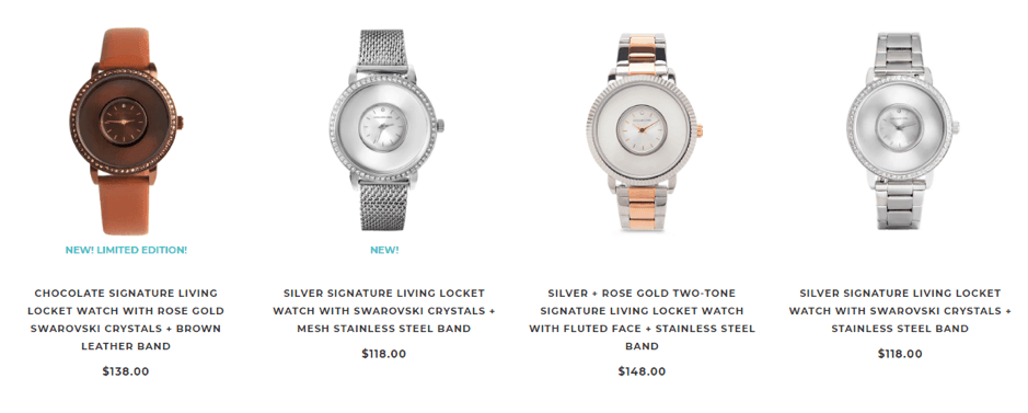 origami owl watches