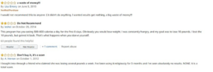 Xyngular Negative reviews 1