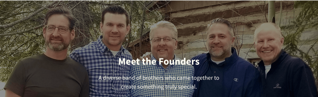 the 5 founders of R Network