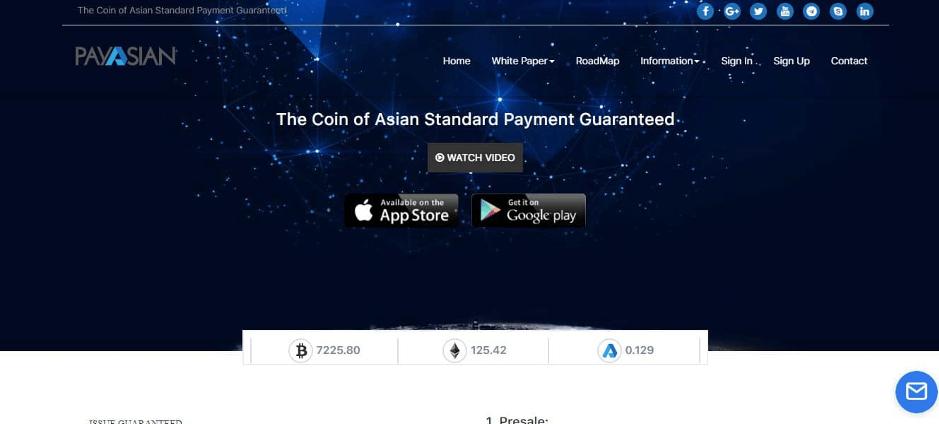 PayAsian website