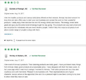 amway-positive-product-reviews