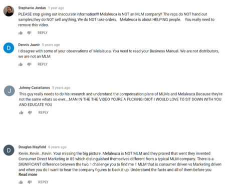 melaleuca-negative-comments
