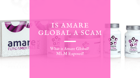 Is Amare Global a Scam? What is Amare Global? MLM Exposed!