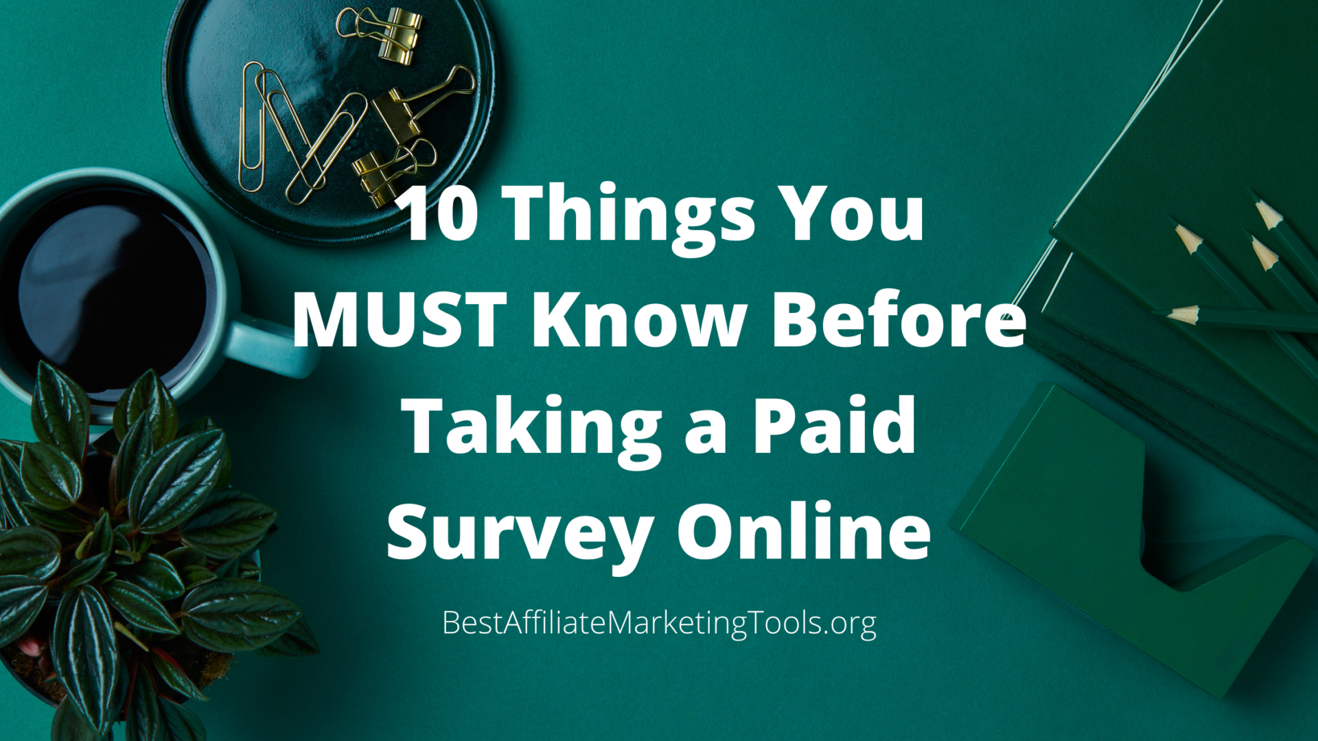 10 Things You MUST Know Before Taking a Paid Survey Online