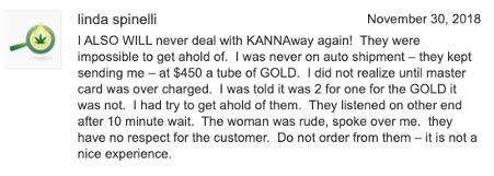 Kannaway complaint - customer service