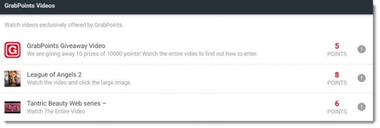is grabpoints legit - videos