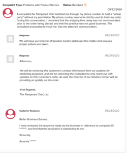 is pampered chef a scam - consultant complaint