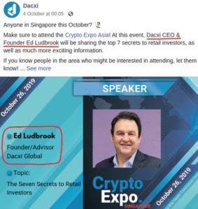 what is dacxi - Ed Ludbrook