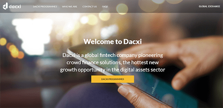 what is dacxi - website