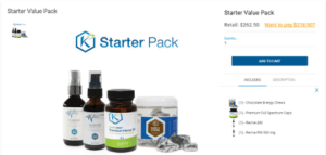 what is kannaway mlm - starter pack