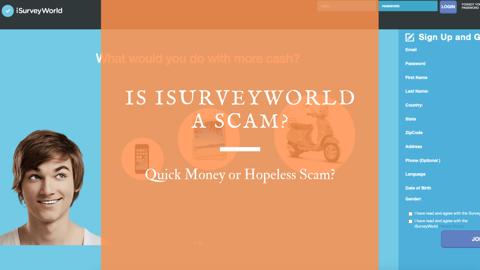 Is iSurveyWorld a Scam