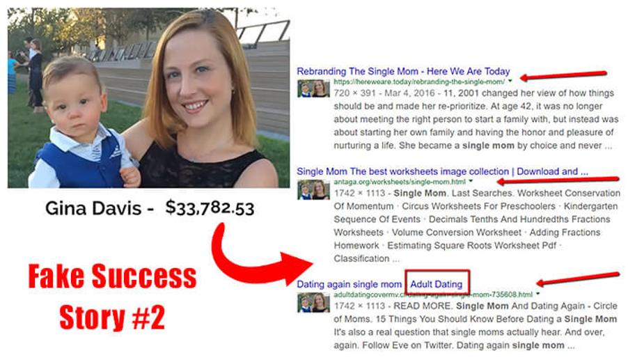 Fake Success Story #2