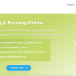 Is Click Earners a Scam - website