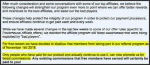 Is Powerhouse Affiliate a Scam - Referral Program