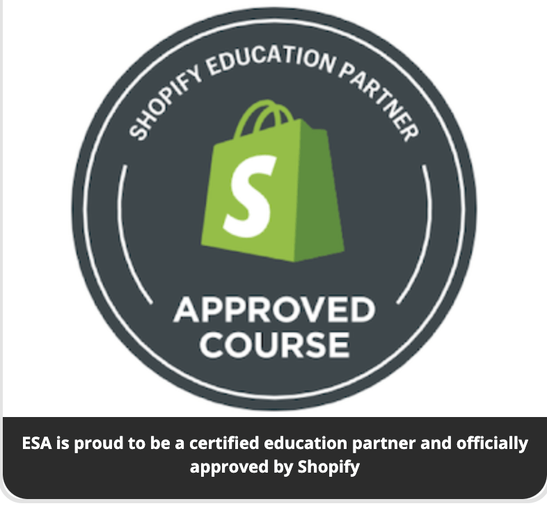 Ecom Success Academy - Shopify Approved Course