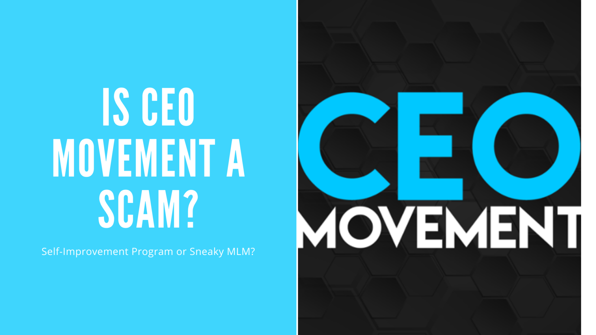 Is CEO Movement a Scam