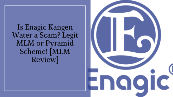 Is The Enagic Kangen Water a Scam