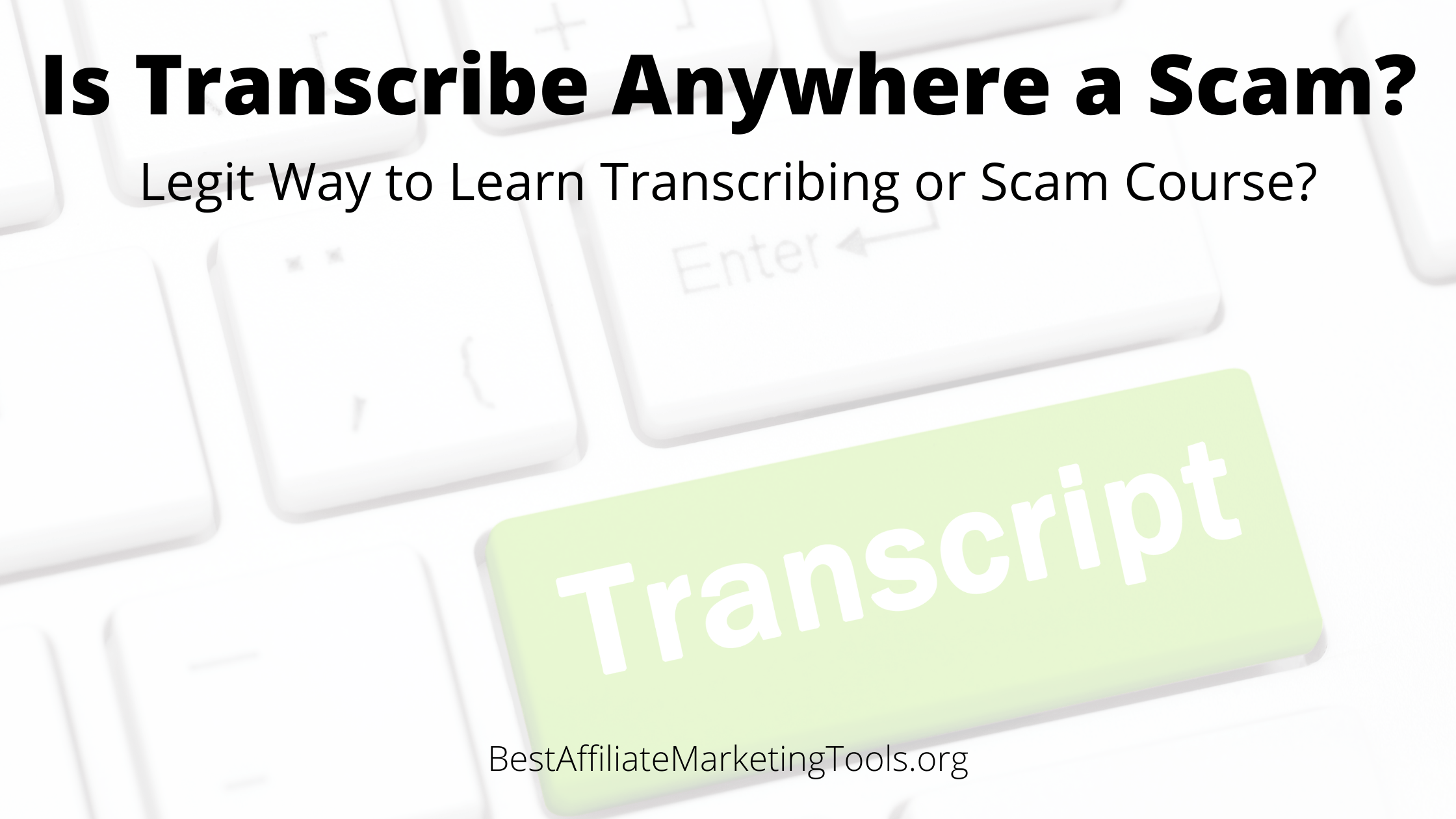 Is Transcribe Anywhere a Scam_