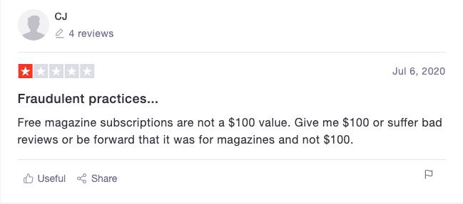 Magazine Complaint 2