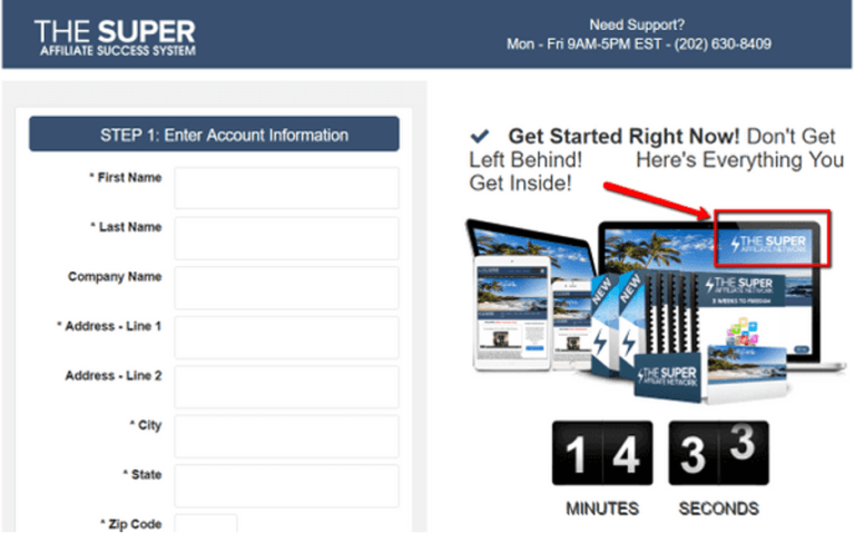 the-super-affiliate-mentor-checkout-page