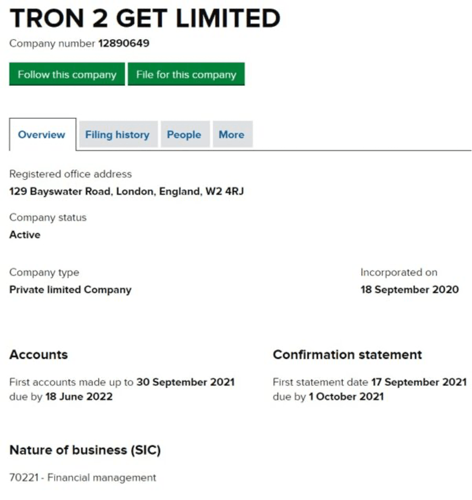 what-is-tron2get-UK-incorporation