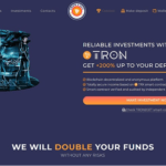 what-is-tron2get-landing-page