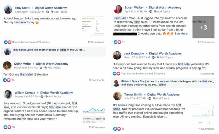 Digital Worth Academy - Facebook Reviews