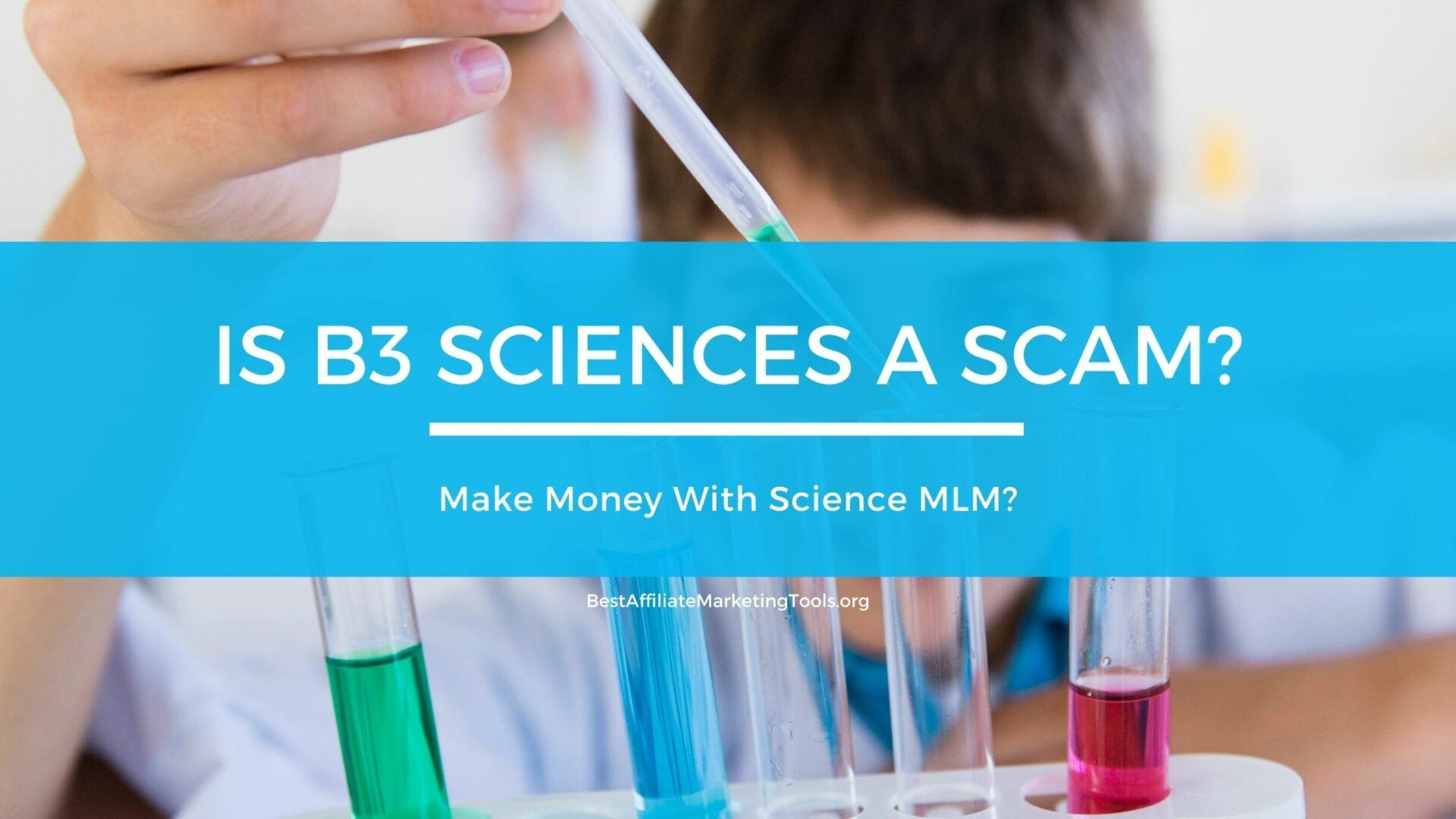 Is B3 Sciences A Scam