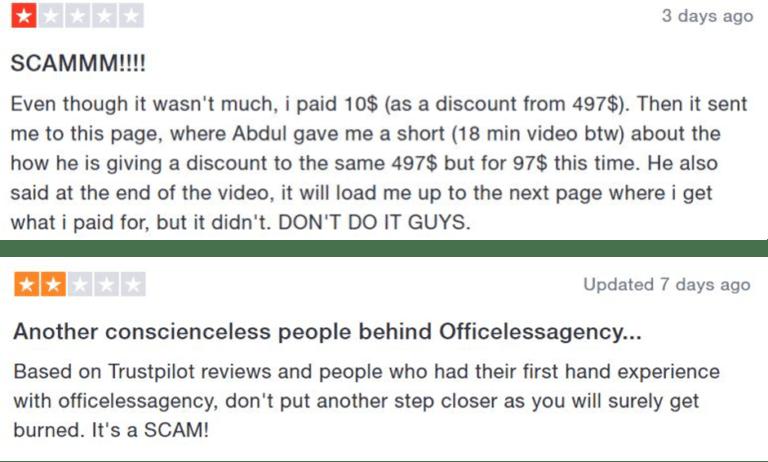 officeless-agency-mastermind-trustpilot-scam-reviews