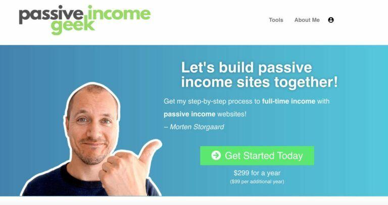 Passive Income Geek - Website