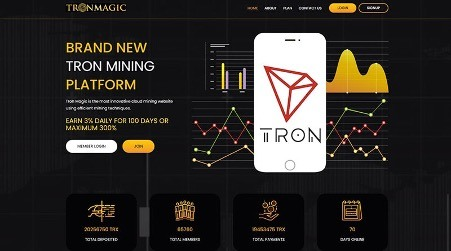 what is tron magic - Landing Page