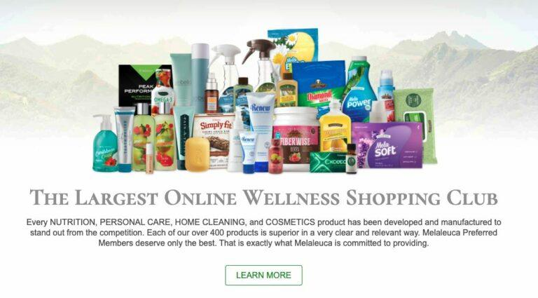 Cowboy Wealth Review - Melaleuca Product Line