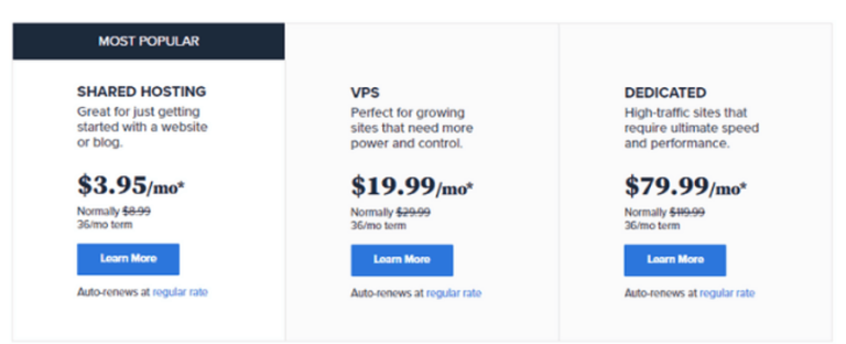 Is 30 Day Blog Challenge a Scam - BlueHost Hosting Plans