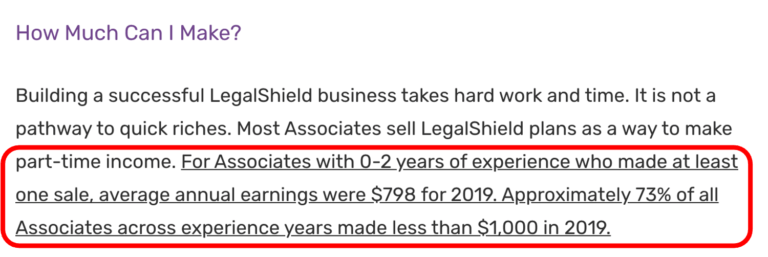 LegalShield - Income Claims 2