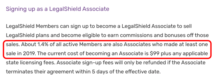 LegalShield - Income Claims